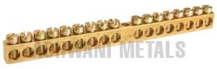 Brass Neutral Link, Neutral Bar and Earth Bar